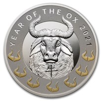 2021 Niue Silver Year of the Ox Proof