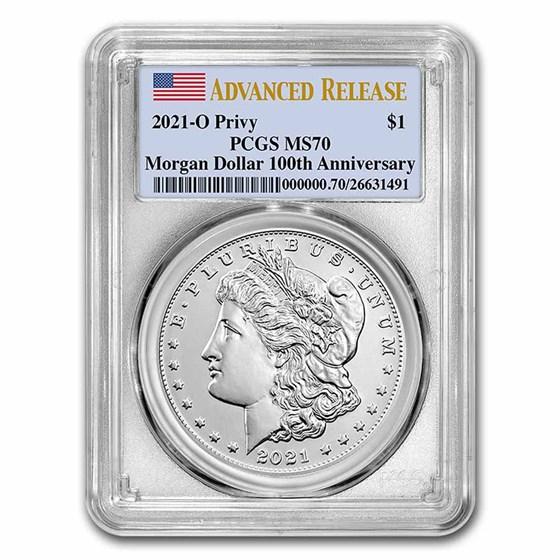 2021-(O) Silver Morgan Dollar MS-69 PCGS (FirstStrike®)