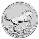 2021-P Australia 1 oz Silver Australian Brumby BU
