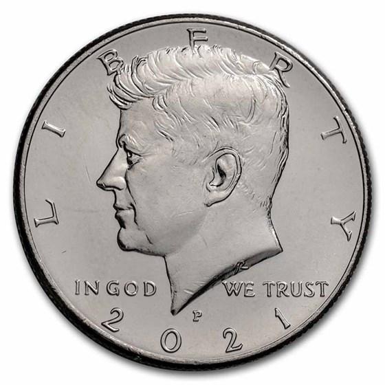 2021-P Kennedy Half Dollar BU