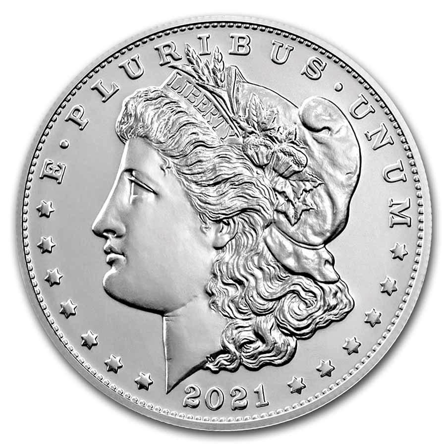 2021-P Silver Morgan Dollar (Box & CoA)