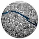 2021 Palau 1 kilo Silver Tiffany Art Metropolis - Paris