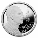 2021 Prince Philip, Duke of Edinburgh 2 oz Silver Proof