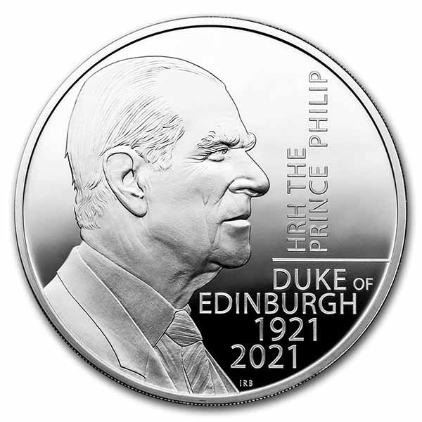 2021 Prince Philip, Duke of Edinburgh 5 oz Silver Proof
