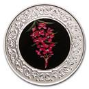 2021 RCM 1/4 oz Silver $3 Floral Emblems: Yukon Fireweed