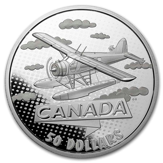 2021 RCM Silver $50 100 Yrs of Confederation: Canada Takes Wing