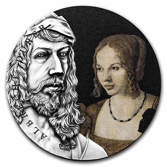 2021 Rep. of Ghana Silver Worlds Greatest Artist Albrecht Dürer