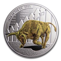 2021 Republic of Cameroon 1 oz Silver Year of the Ox: Time to Win