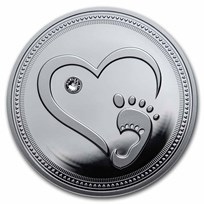 2021 Republic of Cameroon Silver Proof Welcome To The World