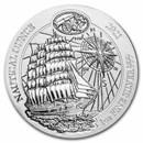 2021 Rwanda 1 oz Silver Nautical Ounce Sedov BU