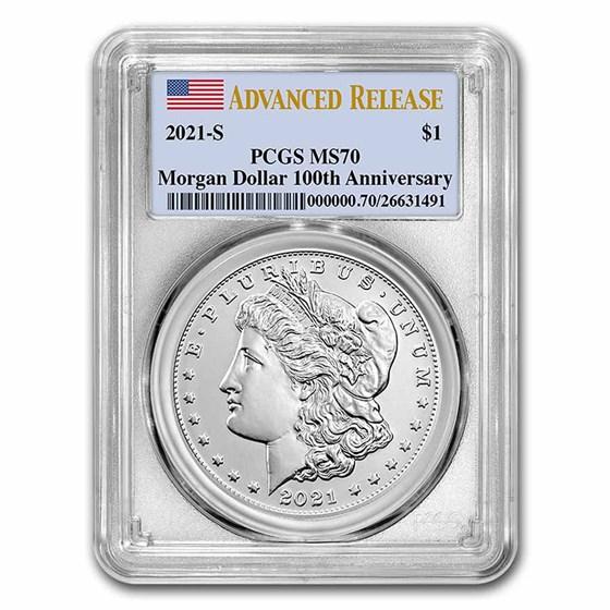2021-S Silver Morgan Dollar MS-69 PCGS (FirstStrike®)
