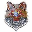 2021 SI 1 oz Silver $2 Spirit Animals by Phil Lewis | Fox