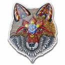 2021 SI 1 oz Silver $2 Spirit Animals by Phil Lewis|Electric Fox
