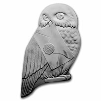 2021 Silver €10 Harry Potter Proof (Owl Shaped)
