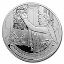 2021 Silver €10 The Louvre (The Coronation by David)