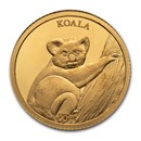 2021 Solomon Islands 1/2 Gram Proof Gold Koala