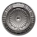 2021 Solomon Islands 100 gram Silver Pantheon (4-Layer)