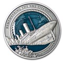 2021 Solomon Islands 3 oz Silver Remembering the RMS Titanic