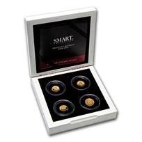 2021 Solomon Islands 4-Coin Smart Collection American Buffalo Set