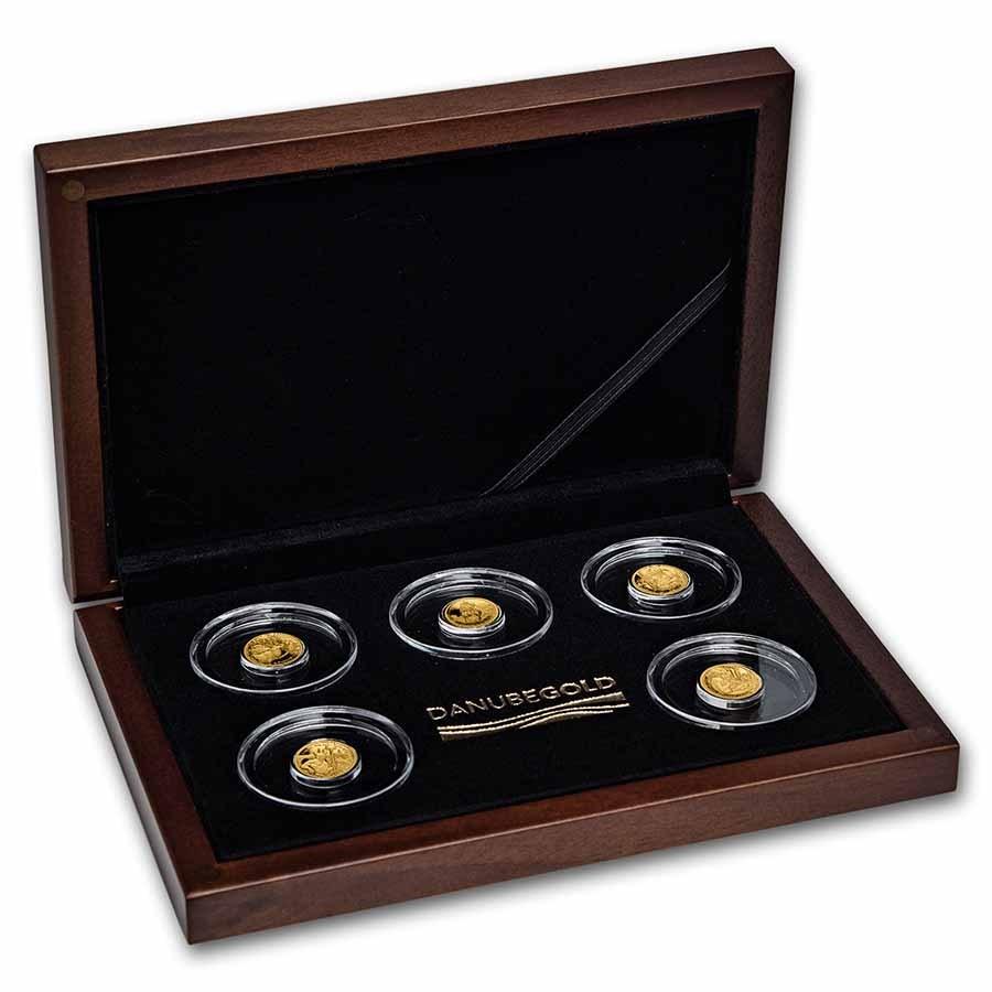 2021 Solomon Islands 5-Coin Legends of Danube Set
