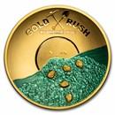 2021 Solomon Islands Gold 125 Year Anniv Klondike Gold Rush