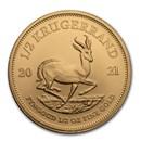 2021 South Africa 1/2 oz Gold Krugerrand