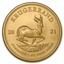 2021 South Africa 1 oz Gold Krugerrand BU