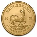 2021 South Africa 1 oz Gold Krugerrand BU