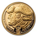 2021 South Africa 1 oz Proof Gold Big Five Buffalo