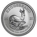 2021 South Africa 1 oz Silver Krugerrand BU