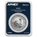 2021 South Africa 1 oz Silver Krugerrand (MintDirect® Single)