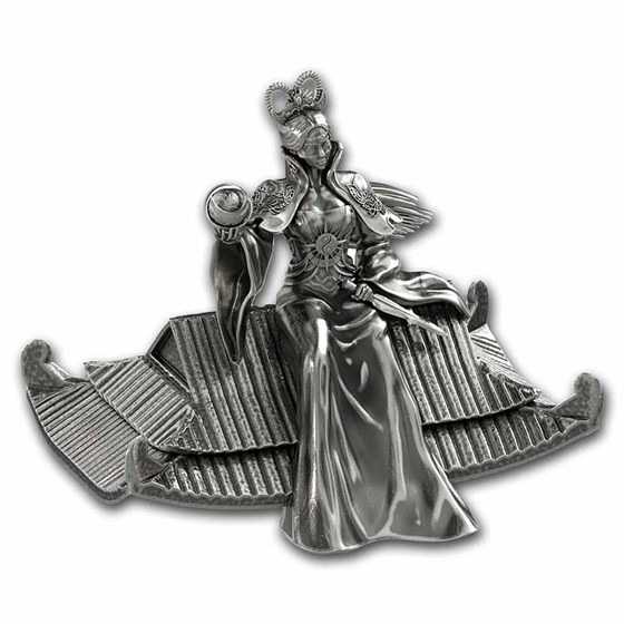 2021 South Korea 30 oz Silver ZI:SIN Rattus Statue