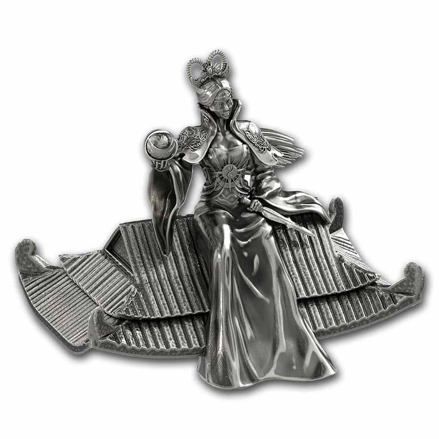 2021 South Korea 8 oz Silver ZI:SIN Rattus Statue