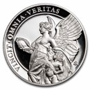 2021 St. Helena 1 oz Silver £1 Queen's Virtues Truth Proof