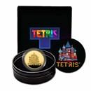 2021 Tetris™ St. Basil's Cathedral Niue 1 oz Gold $250 Coin