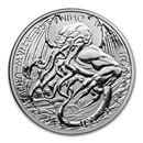 2021 Tokelau 1 oz Silver $2 The Great Old One: Cthulhu Coin