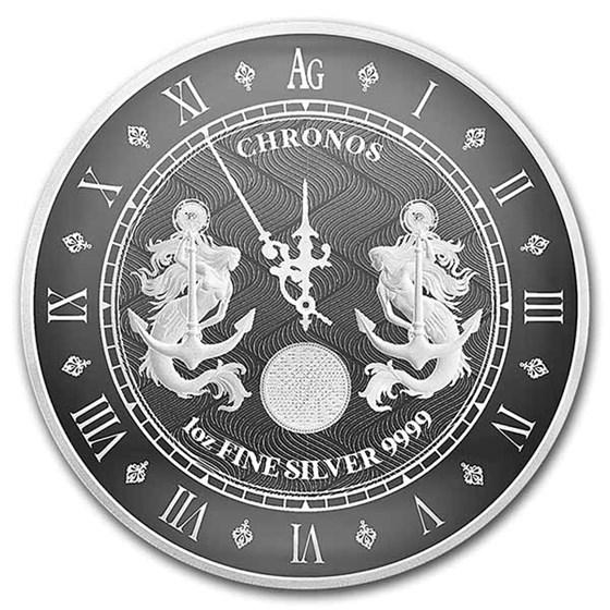 2021 Tokelau 1 oz Silver $5 Chronos (Prooflike)