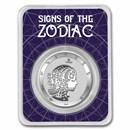 2021 Tokelau 1 oz Silver $5 Zodiac Series: Virgo BU (TEP)