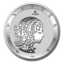 2021 Tokelau 1 oz Silver $5 Zodiac Series: Virgo BU