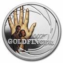 2021 Tuvalu 1/2 oz Silver 007 James Bond Movie: Goldfinger