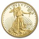 2021-W 1/10 oz Proof American Gold Eagle (w/Box & COA)