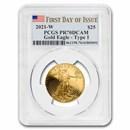 2021-W 1/2 oz Proof American Gold Eagle PR-70 PCGS (FDI)
