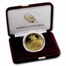 2021-W 1 oz Proof American Gold Eagle (w/Box & COA)