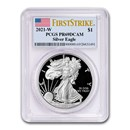 2021-W American Silver Eagle PR-69 PCGS (FirstStrike®)