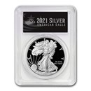 2021-W American Silver Eagle PR-70 PCGS (First Day, Black Label)