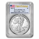 2021-W American Silver Eagle PR-70 PCGS (FirstStrike®, Type 2)