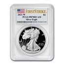 2021-W American Silver Eagle PR-70 PCGS (FirstStrike®)