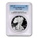 2021-W American Silver Eagle PR-70 PCGS
