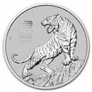 2022 Australia 1 oz Platinum Lunar Tiger BU (Series III)