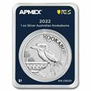 2022 Australia 1 oz Silver Kookaburra (MD® Premier+PCGS)